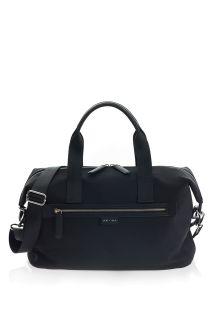 Wickeltasche aus recyceltem Nylon schwarz