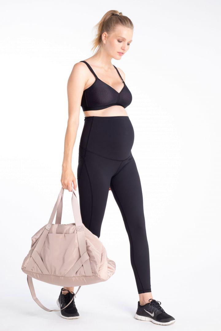 Sport Umstandsleggings mit Bauch Support