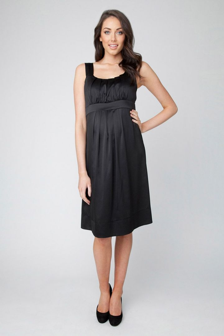 Greta Kleid schwarz