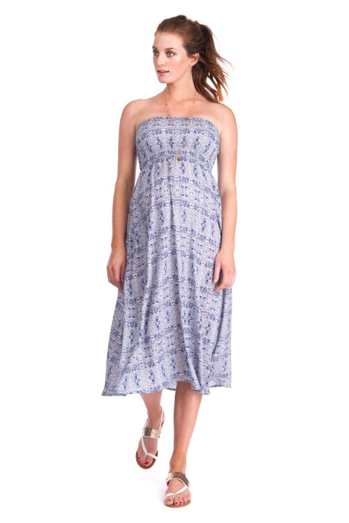 2-in-1 Maxi Umstandsrock und Kleid