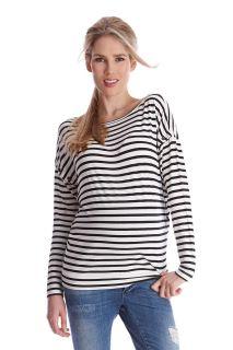 Miller Streifen Umstands- und Still-Shirt