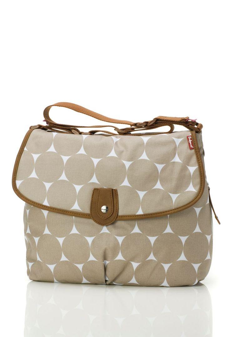 Dot Changing Bag taupe