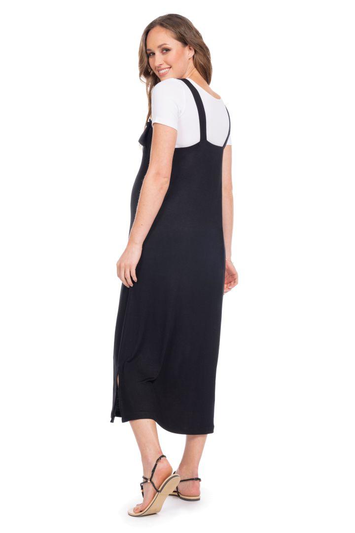 Strappy Maternity and Nursing Dress