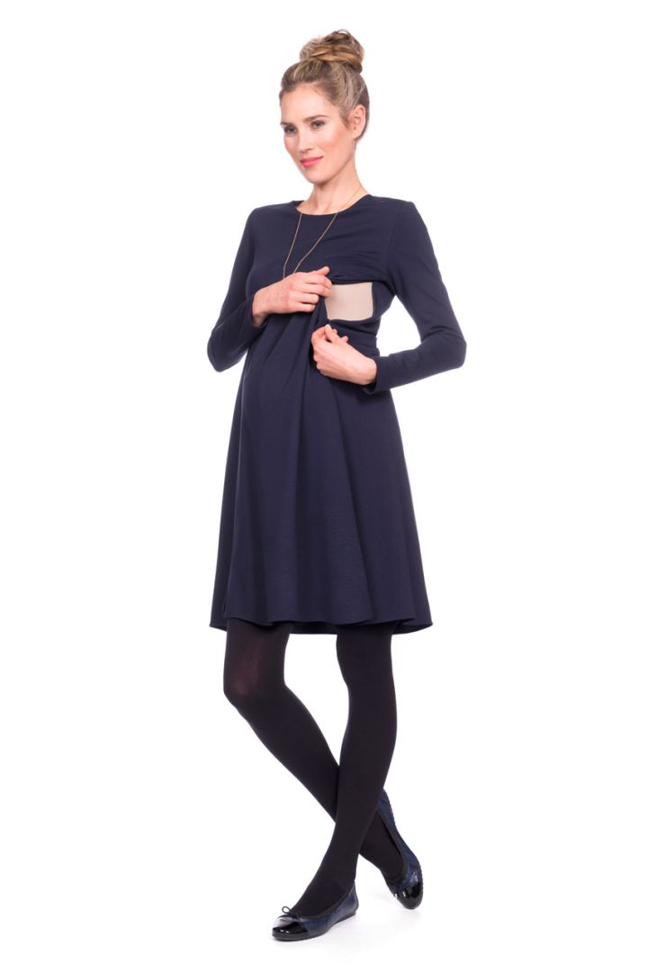 A-Line Maternity and Nursing Dress