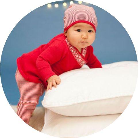 Weihnachtsoutfits für Babys
