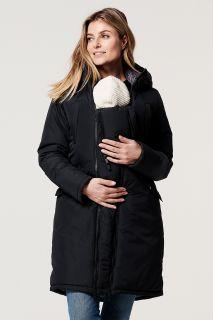 Wintermantel mit Schwangerschafts- und Babyeinsatz