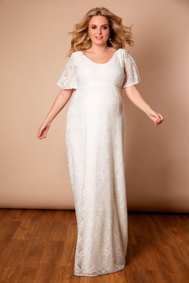 Kimono wedding dress Plus Size