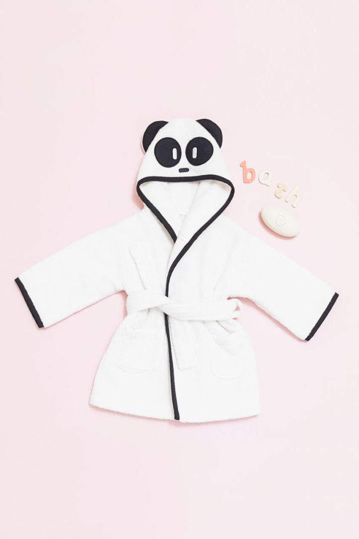 Bademantel Pandabär
