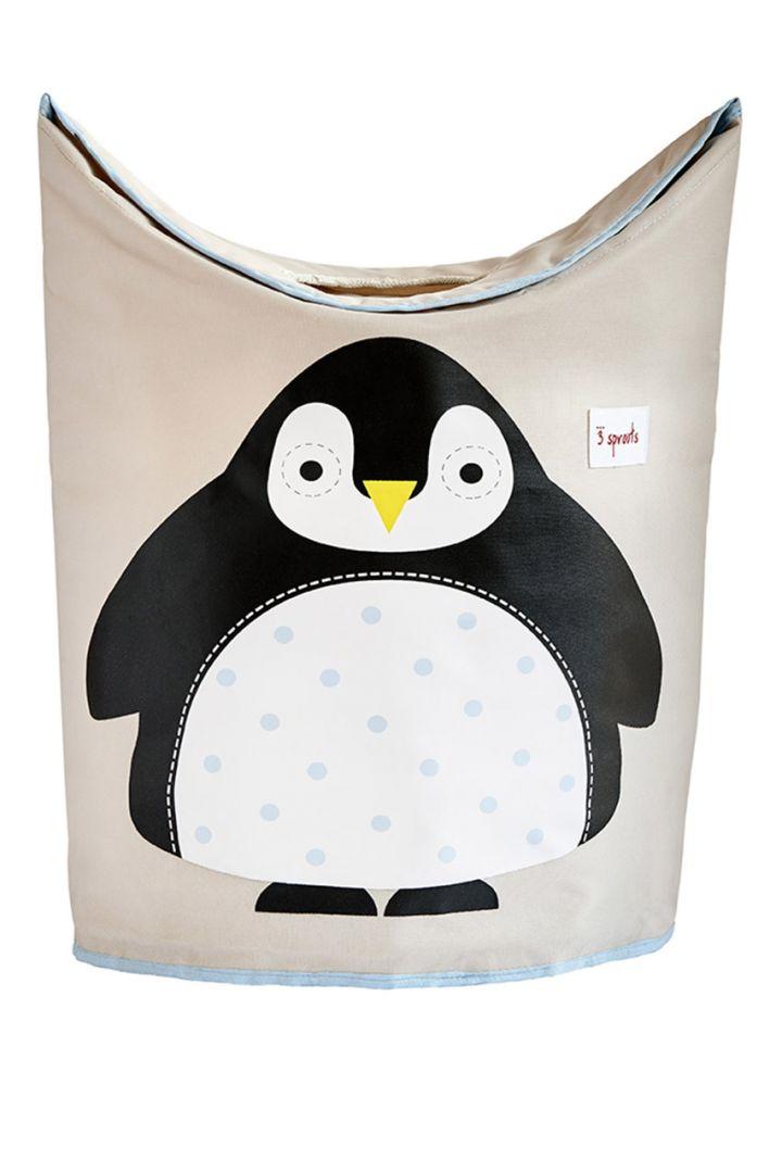 Wäschekorb Pinguin
