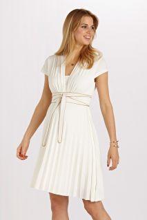 Plissee Umstands- und Still-Kleid