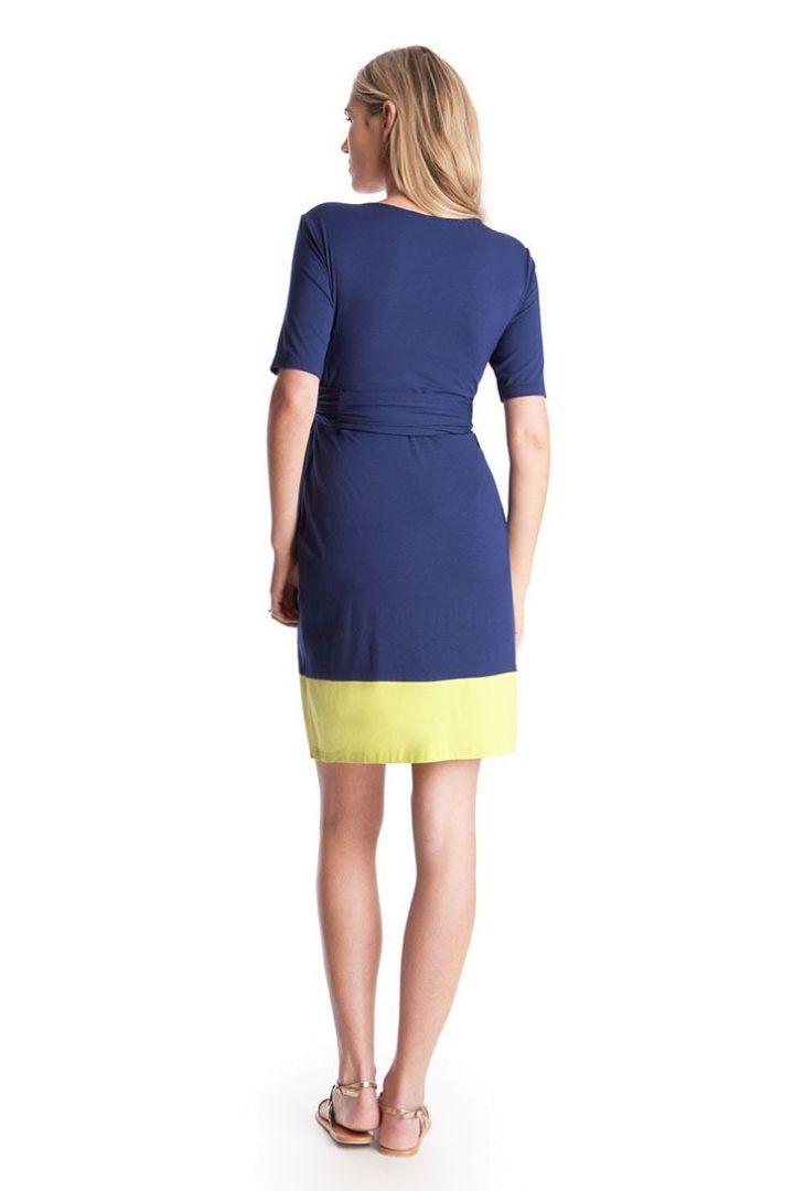 Enja Maternity and Nursing Dress Short Sleeves