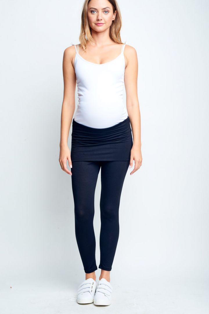 Belly Support Maternity leggings black
