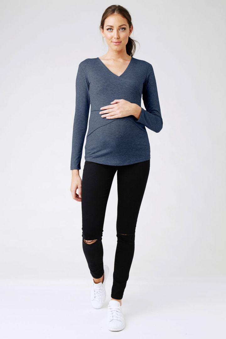 Marle Embrace Umstands- und Still-Shirt denim