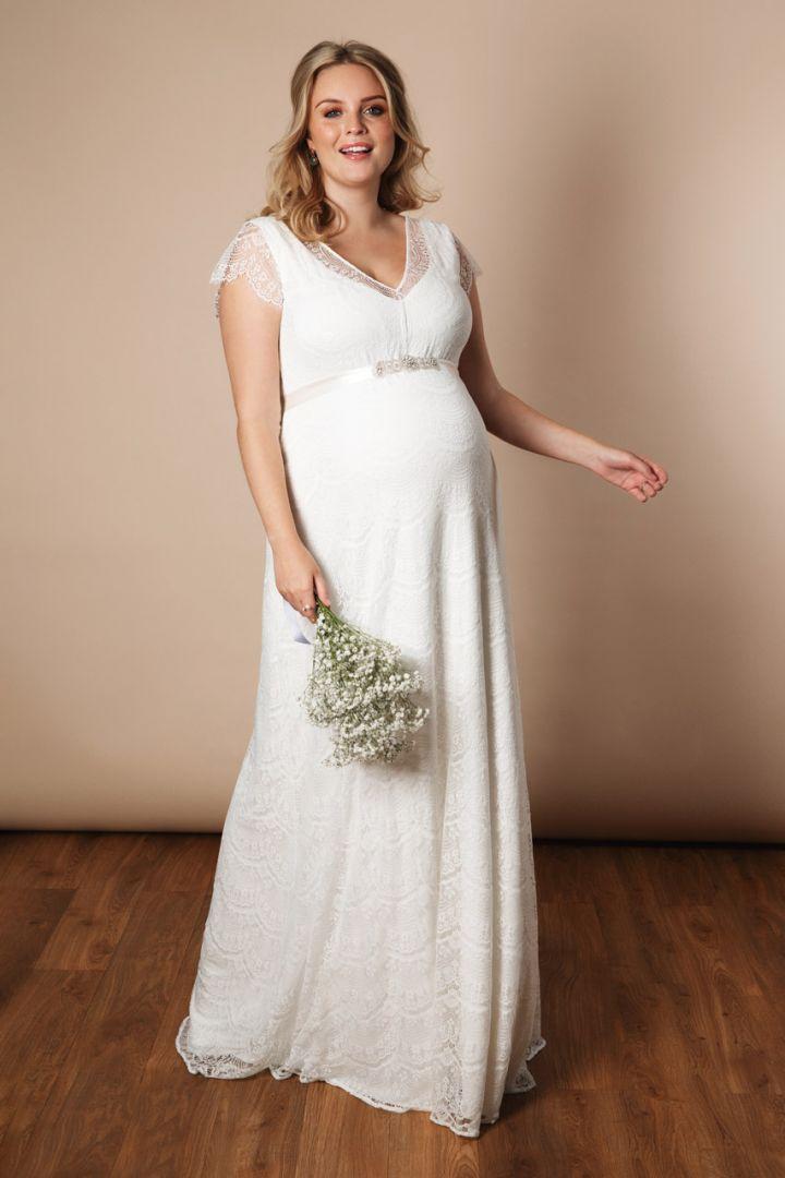 Plus Size Eliana maternity wedding dress