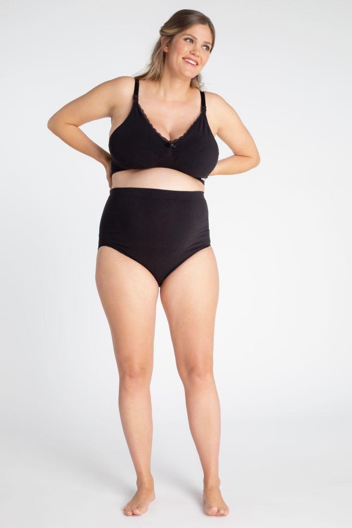 Organic Schwangerschafts- und Still BH Seamless schwarz