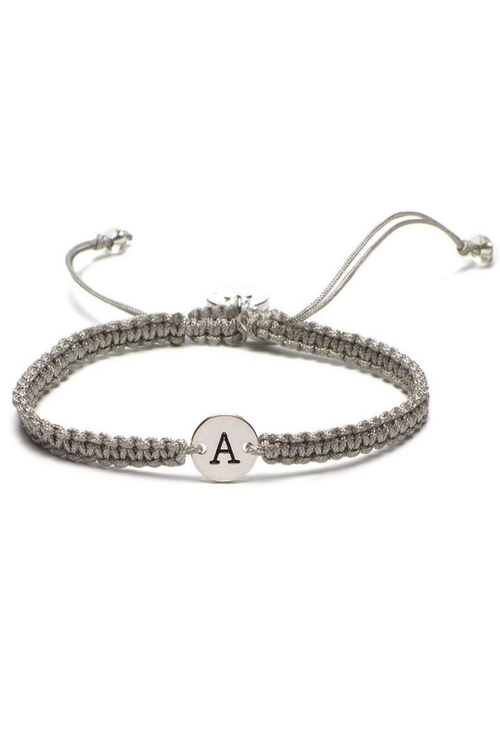 Bracelet with Initial