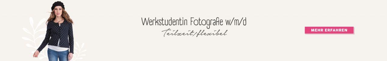 Werkstudent Fotografie (m/w/d) in Teilzeit / flexibel
