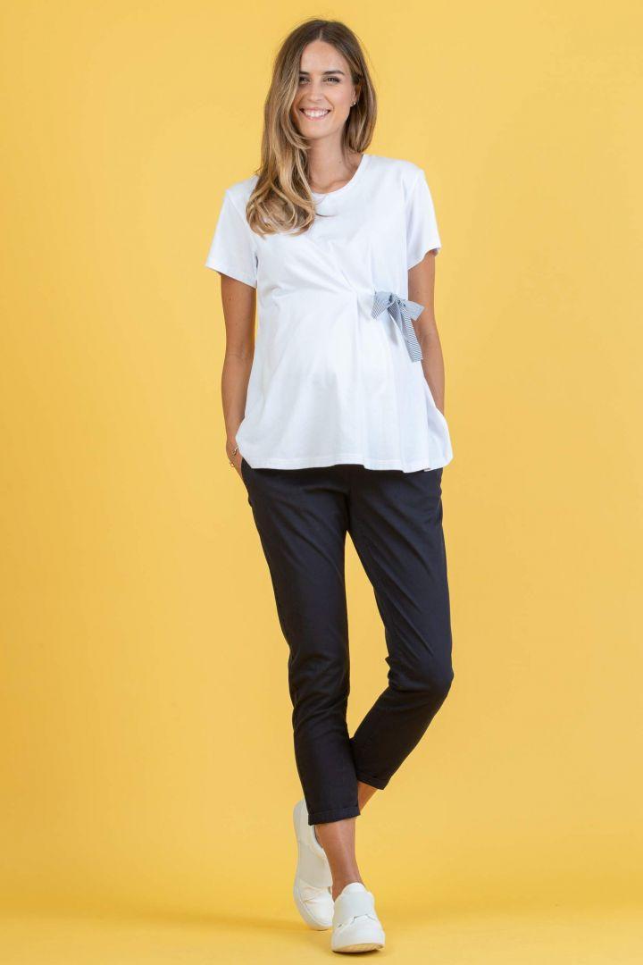 Cotton Chino Maternity Trousers