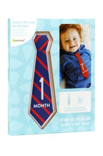 Baby Meilensteine Krawatten-Sticker für monatliche Fotos