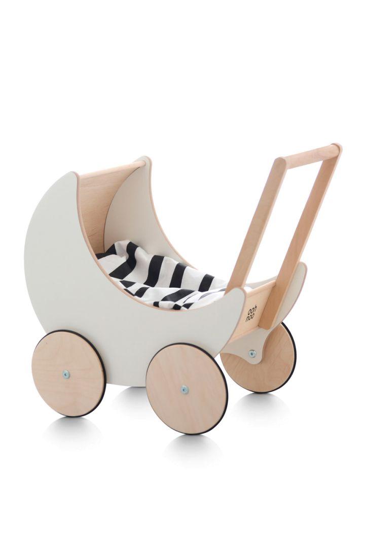 Puppenwagen aus Holz