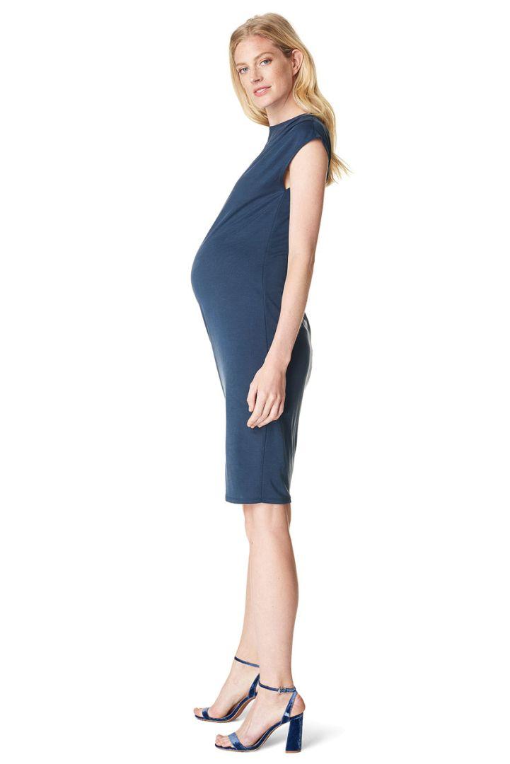 Etui maternity dress navy
