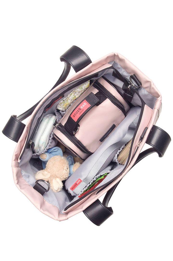 Changing Bag Shopper pink Storksak