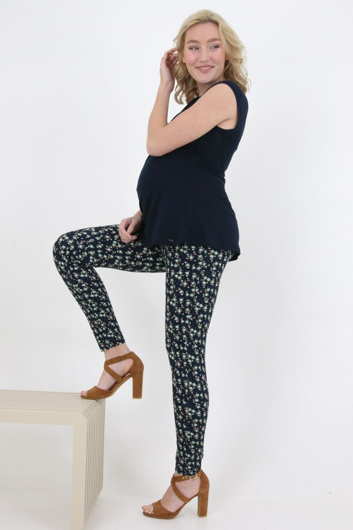 Tencel Maternity and Nursing Top with Bows