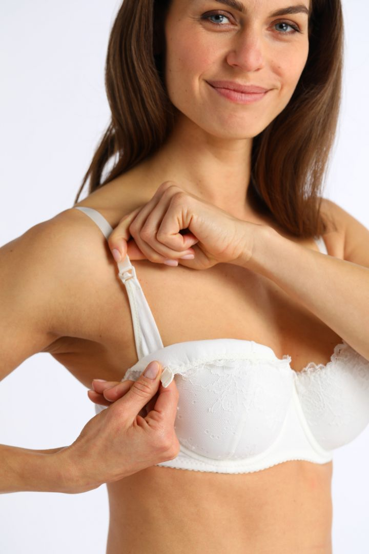Full Cup Nursing Bra with Lace