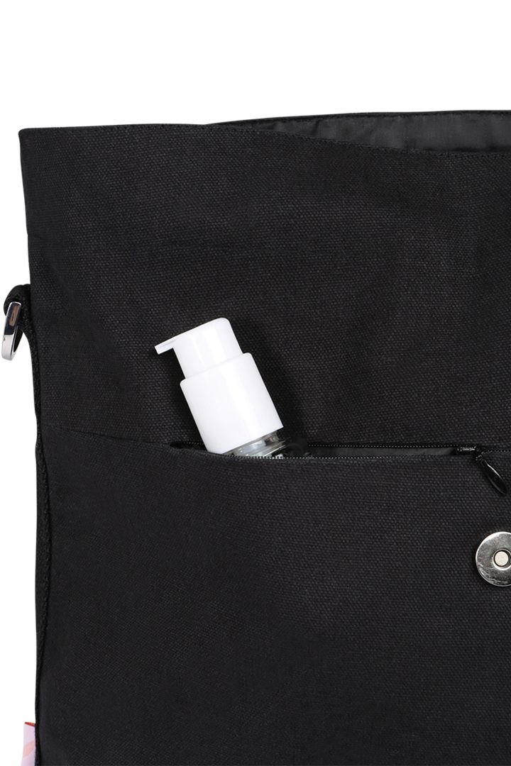 2 in 1 Changing Bag and Backpack Black Pepper