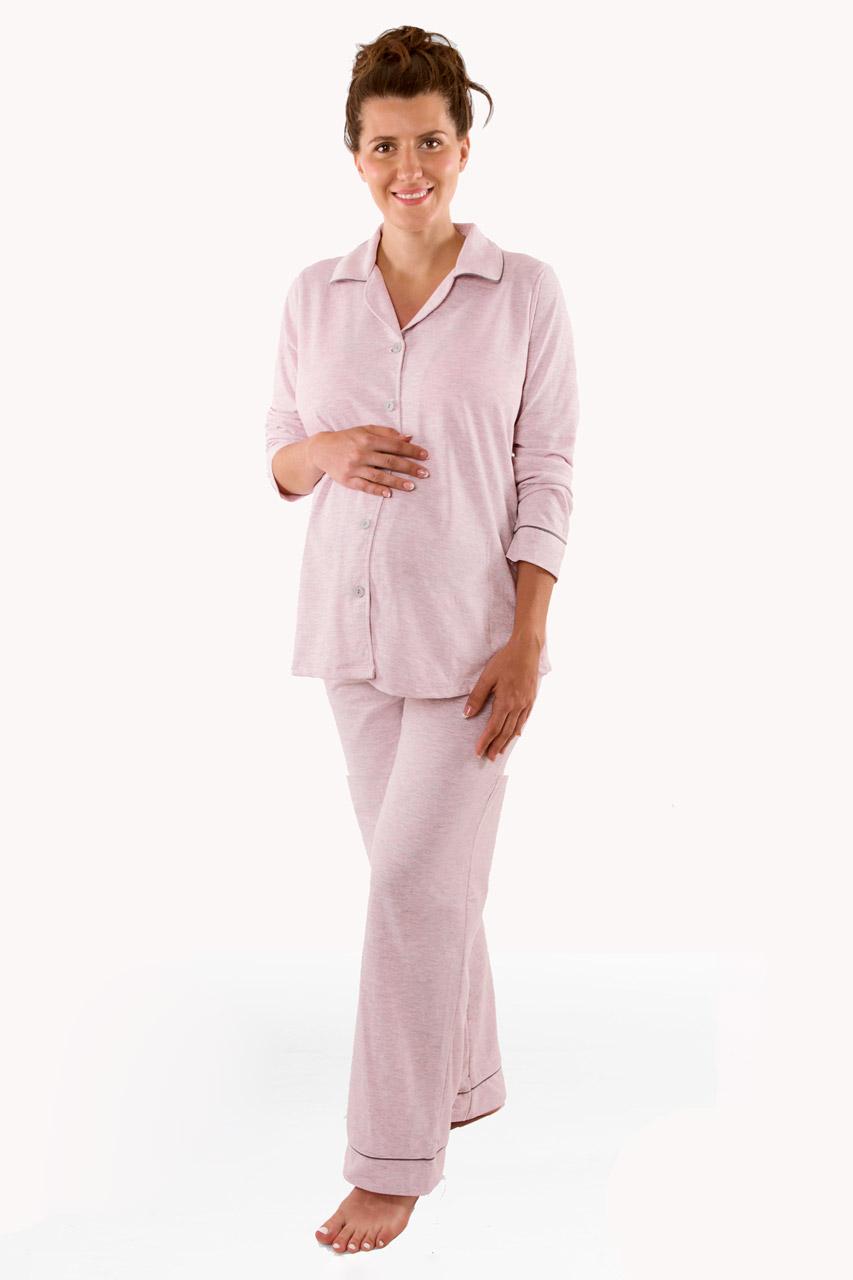 93aa8eb018acb Boyfriend maternity and nursing pyjamas, pink | NEW IN | Maternity Wear |  Mum | Mamarella
