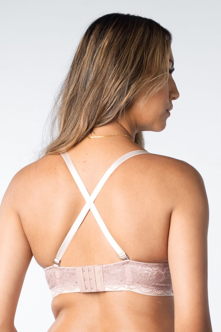 Forever Yours Nursing Bra with Lace Trim skin