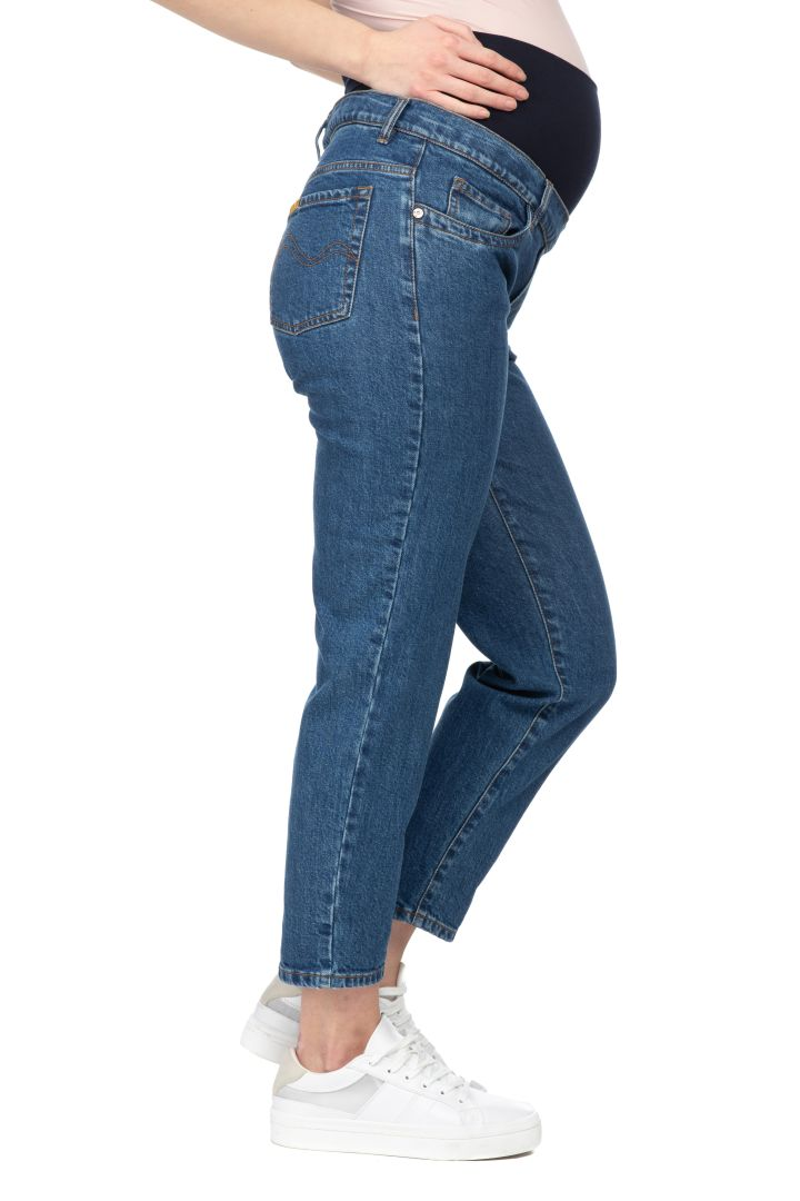 Umstandsjeans cropped Eighty wash
