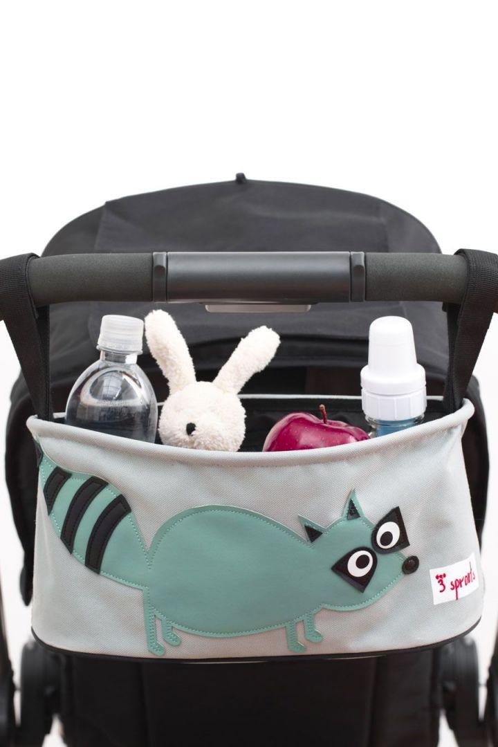 Kinderwagen Organizer Waschbär