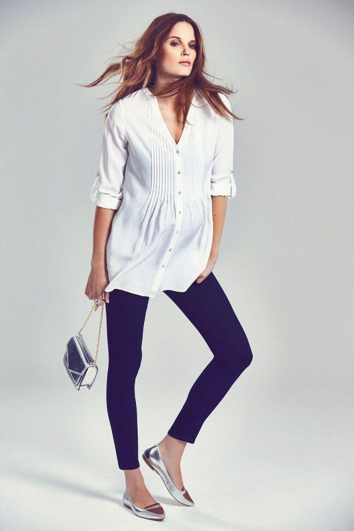 Fern Umstands- und Still-Bluse