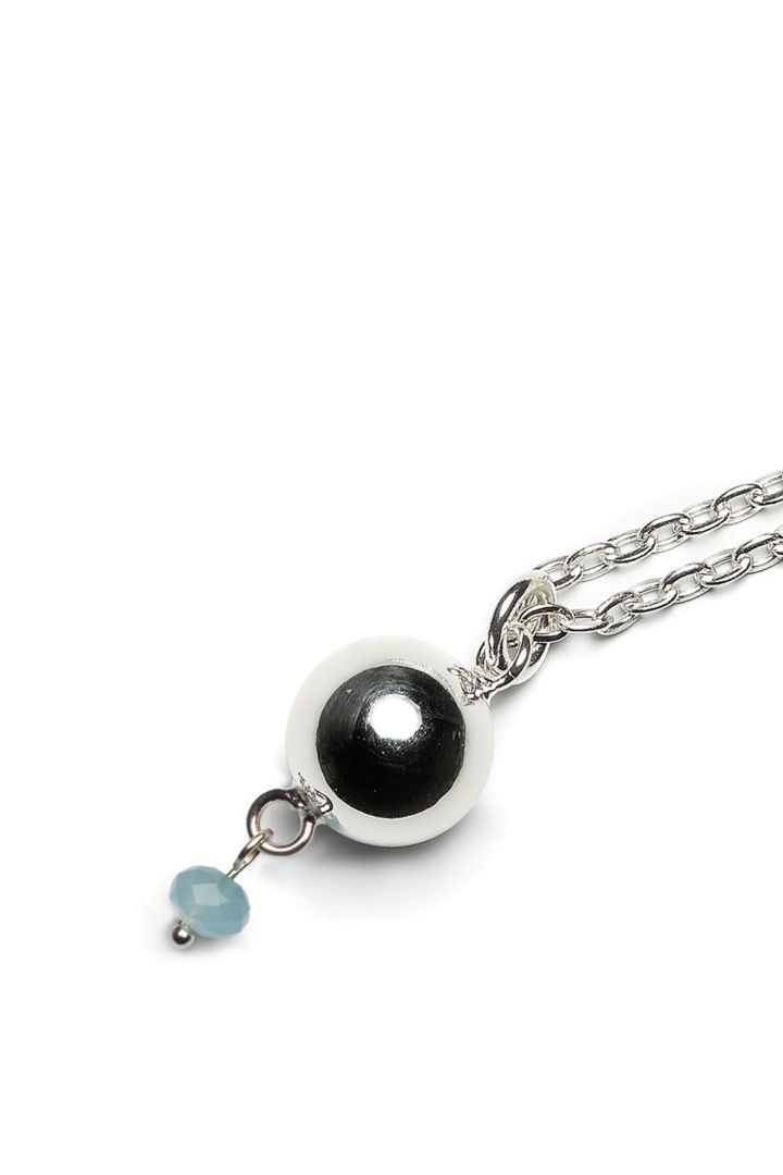 Bola Pregnancy Necklace with Pendant blue