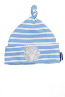 Trachten Babymütze Geweih blau