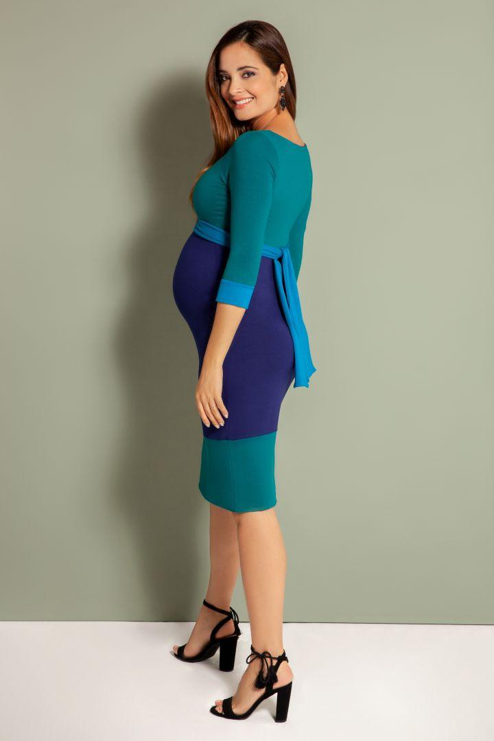 Umstandskleid Carrie blau