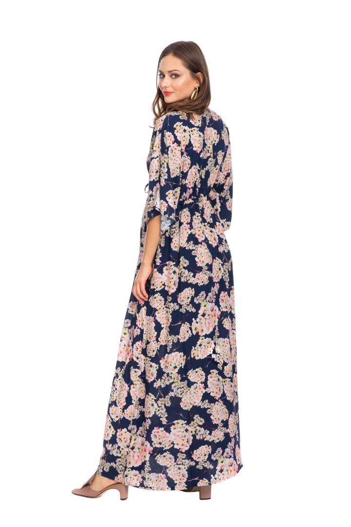 Maxi Maternity Dress Night Blossom