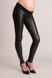 Cici Faux-Leather Treggings