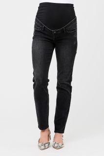 Classic Umstandsjeans Slim Leg schwarz