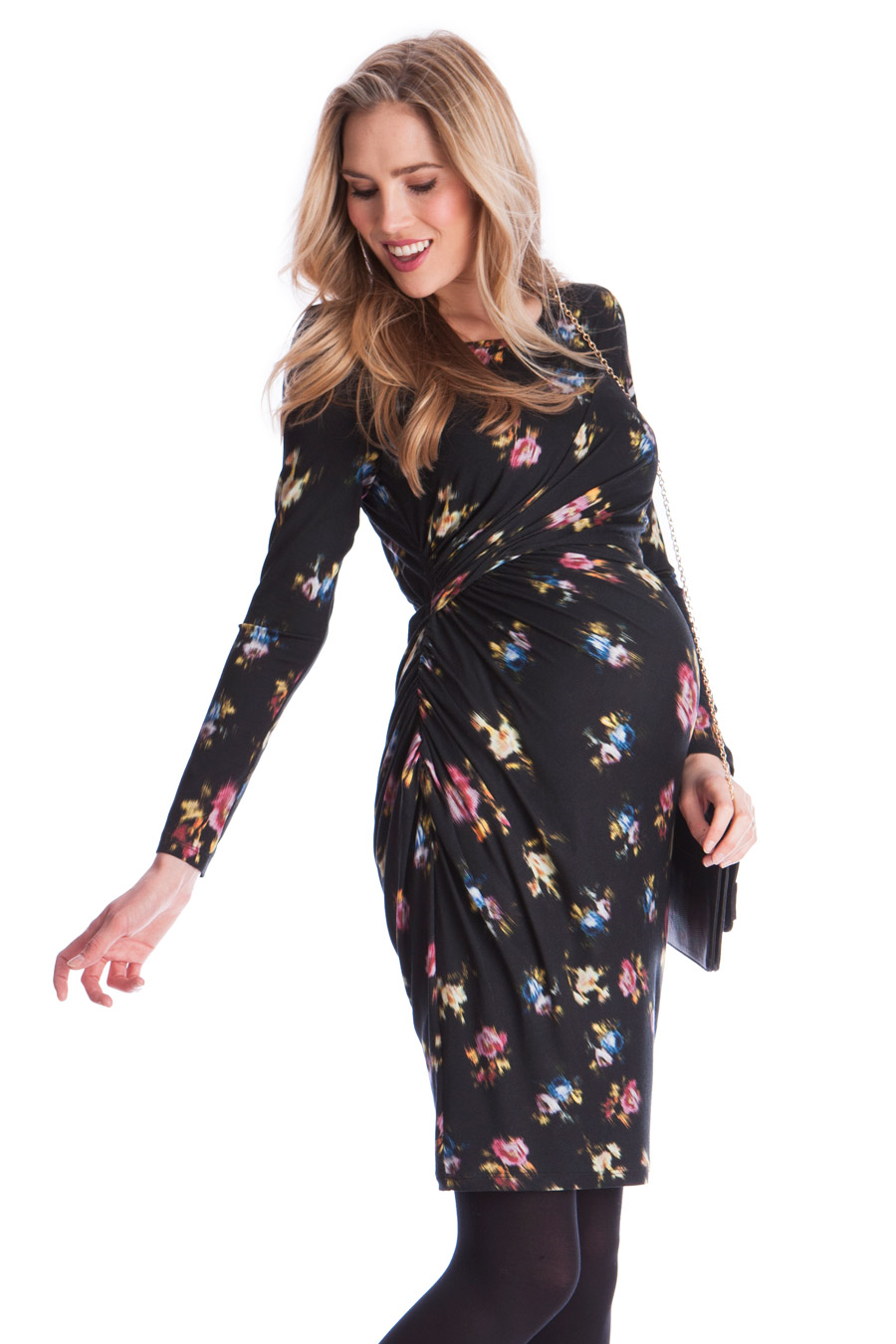 7584f88f760a8 Maternity and Nursing Dress with floral print   Nursing Dresses   Nursing  Wear   Mum   Mamarella