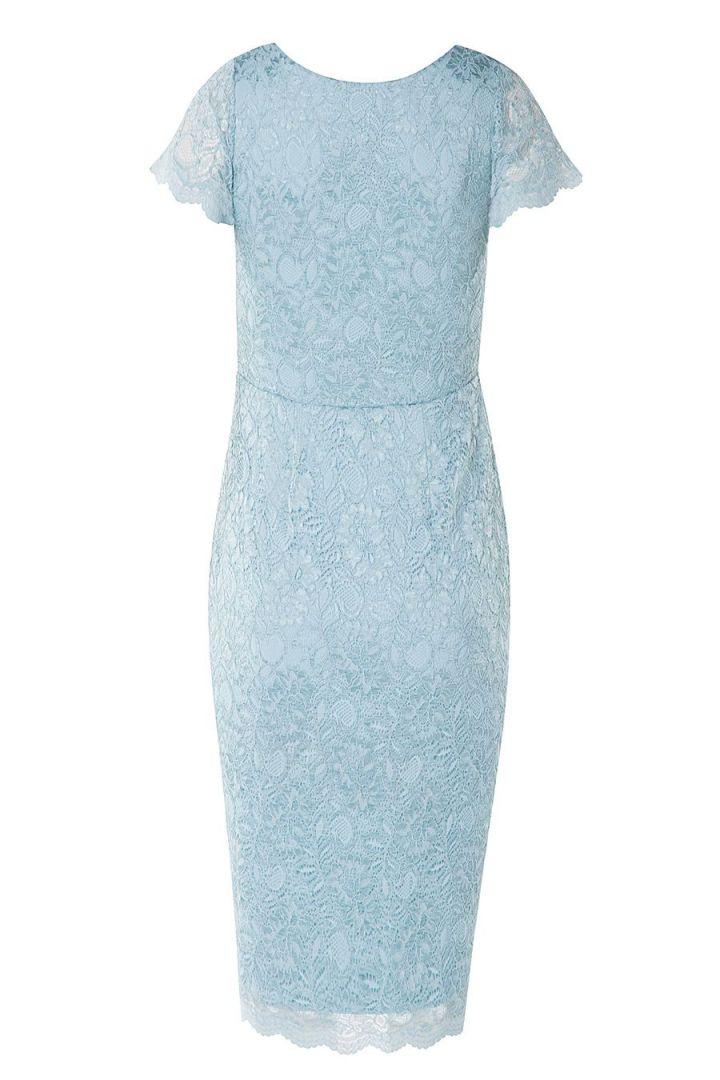Maternity Lace Dress Cap Sleeve