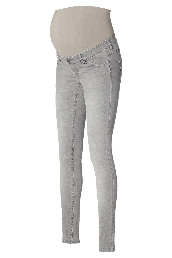 Skinny Maternity Jeans aged grey