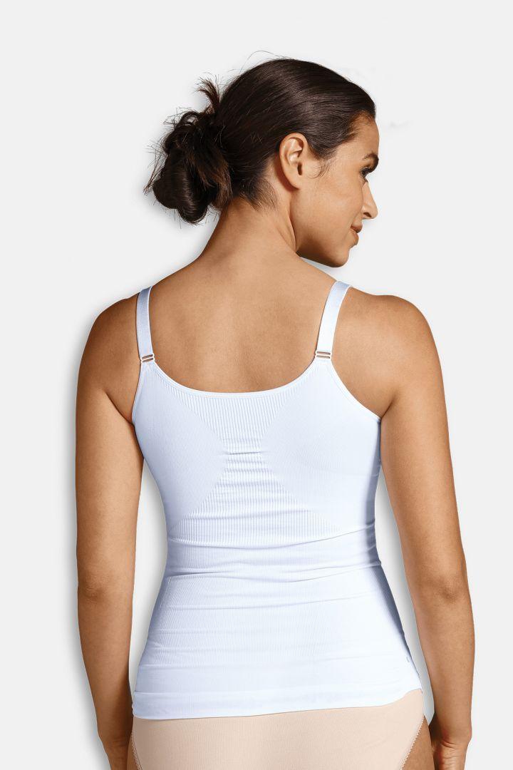 Shaping Still-Unterhemd mit Bügeln weiß