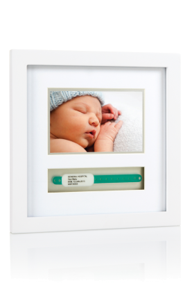 Photo Frames for New Baby Name Band