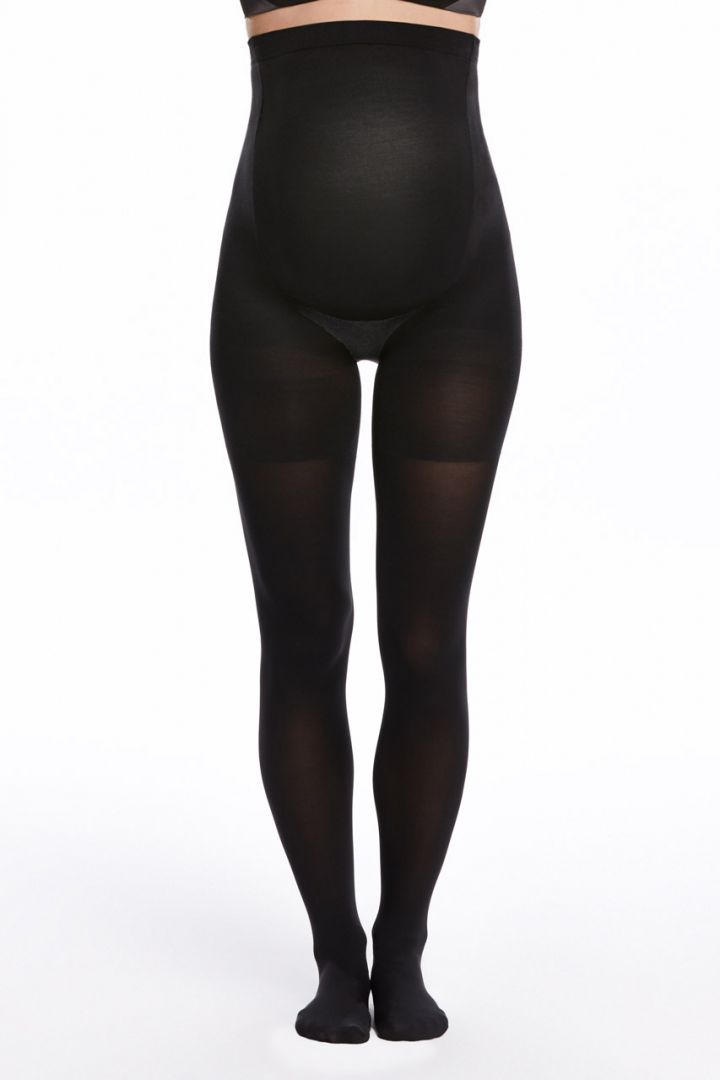 Mama spanx maternity tights opaque 70 den