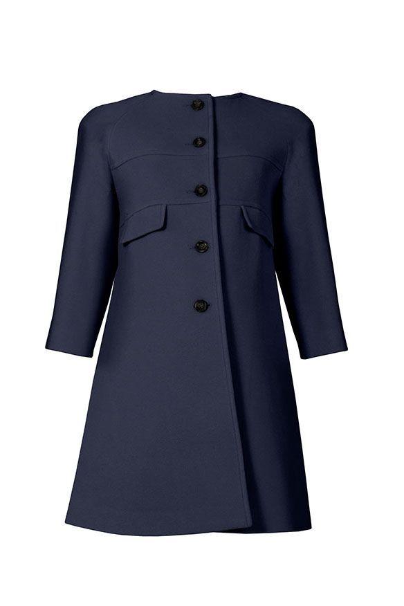 Celine Coat navy