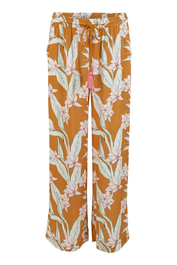Maternity Trousers with Flower Print