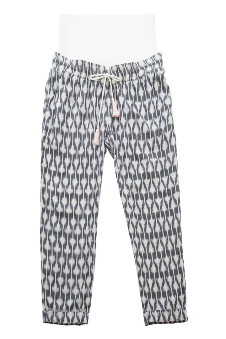 Argyle Maternity Trousers