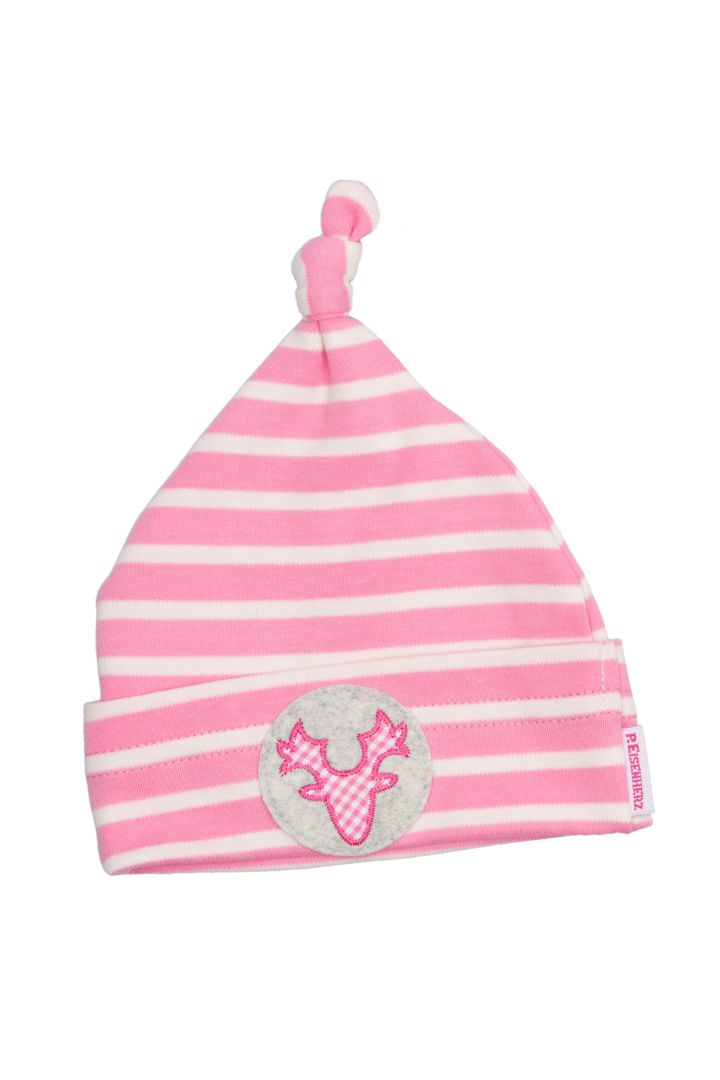 Traditional antlers baby's hat